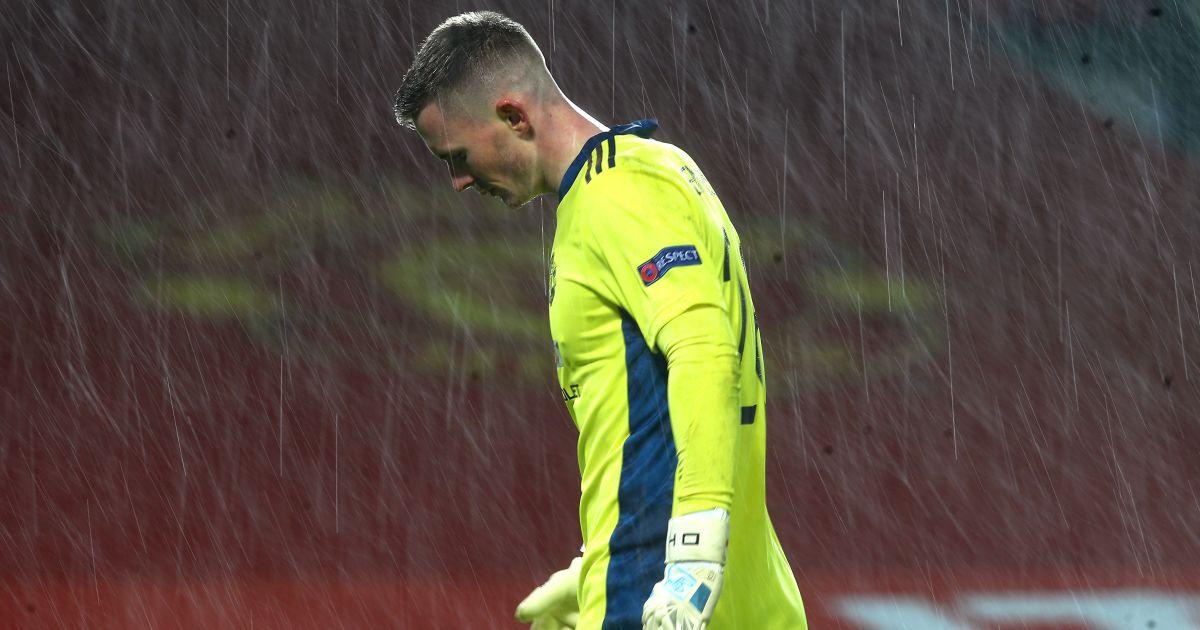 Dean Henderson Man Utd v AC Milan March 2021