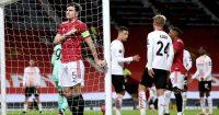 Harry Maguire Man Utd v AC Milan March 2021
