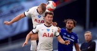 Eric Dier, Ben Davies Tottenham v Everton July 2020