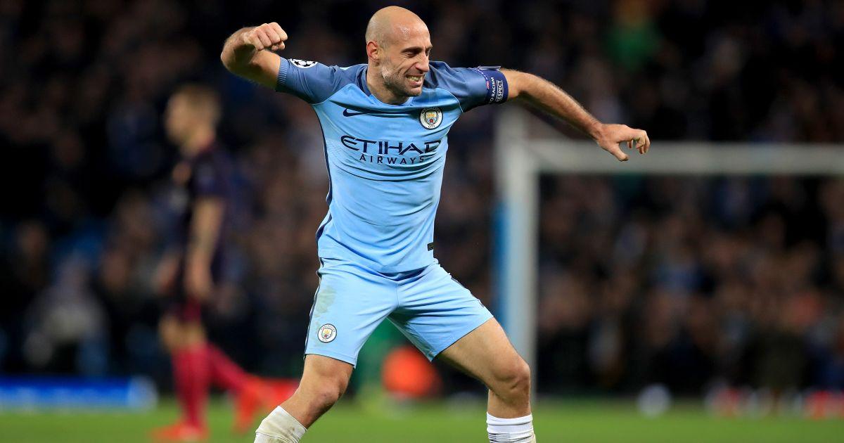 Pablo Zabaleta's Man City November 2016