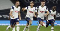 Harry Kane, Erik Lamela, Eric Dier Tottenham v Chelsea September 2020