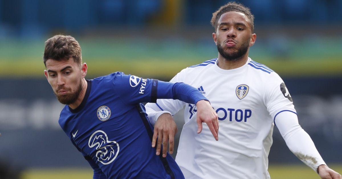 Jorginho, Tyler Roberts, Leeds v Chelsea