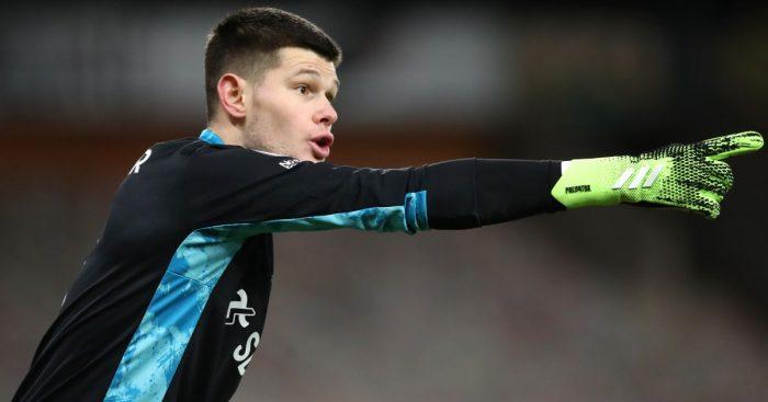 Illan Meslier, Leeds Utd keeper