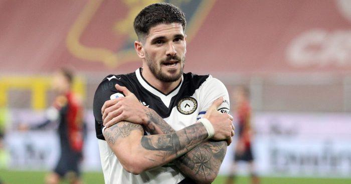 Rodrigo de Paul, Udinese celeb