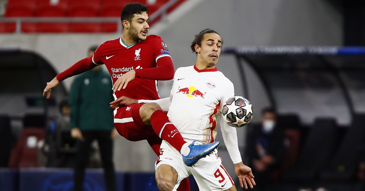 Ozan Kabak Liverpool TEAMtalk