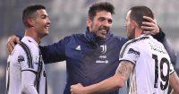 Cristiano Ronaldo, Gianluigi Buffon, Leonardo Bonucci, Juventus