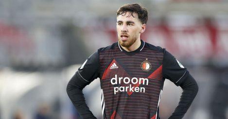 Orkun Kokcu AZ Alkmaar v Feyenoord February 2021