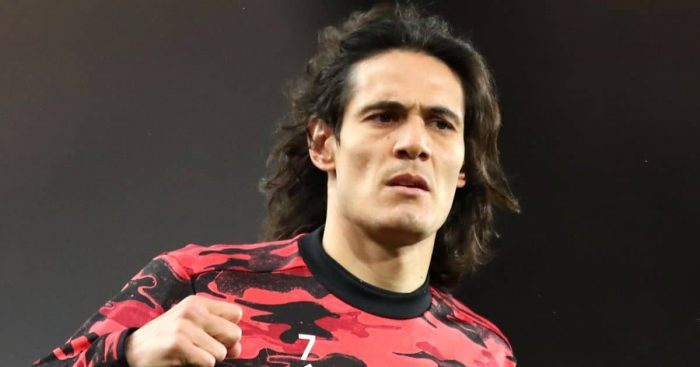Edinson Cavani, Man Utd warm up