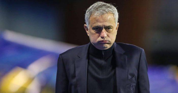 Jose Mourinho, Tottenham manager away at Zagreb