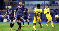 Mislav Orsic scores v Tottenham for Dinamo Zagreb