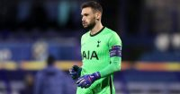 Hugo Lloris Dinamo Zagreb v Tottenham March 2021