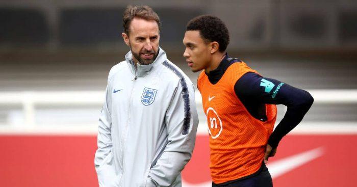 Gareth Southgate, Trent Alexander-Arnold England September 2019