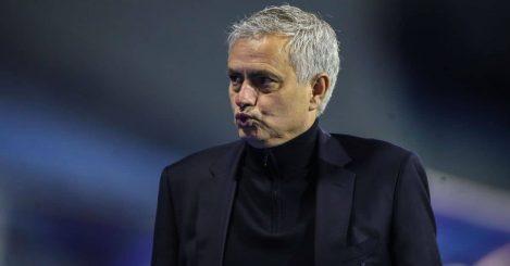 Jose Mourinho Dinamo Zagreb v Tottenham March 2021