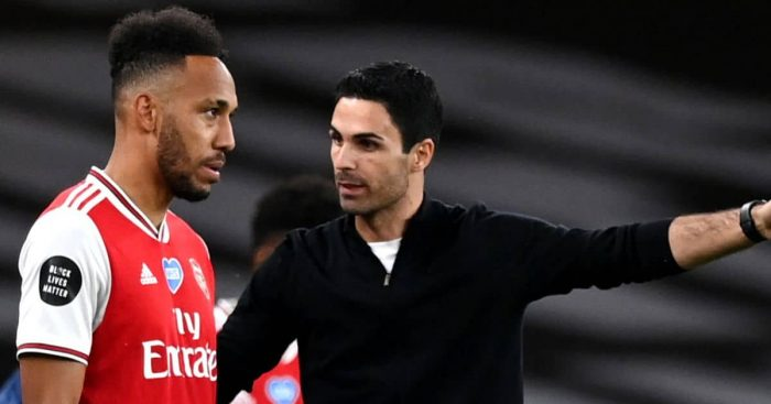 Aubameyang, Arteta Arsenal TEAMtalk