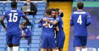 Ben Chilwell, Christian Pulisic Chelsea v Sheff Utd March 2021