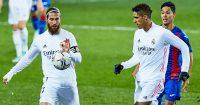 Sergio Ramos and Raphael Varane, Real Madrid, December 2020