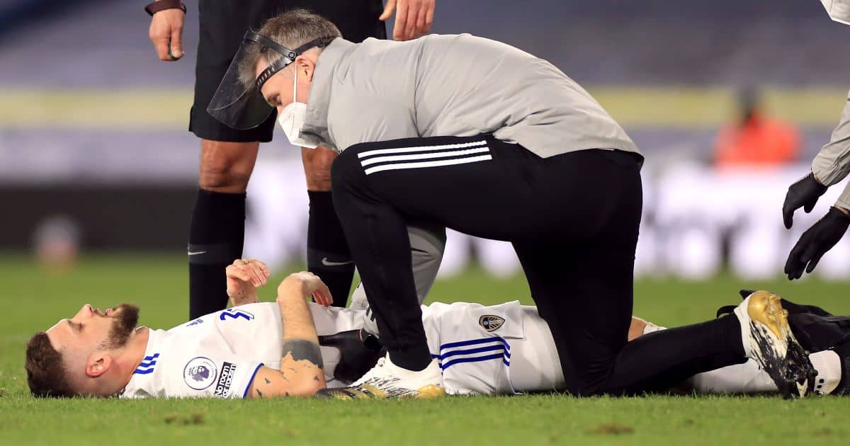 Mateusz Klich Leeds injury
