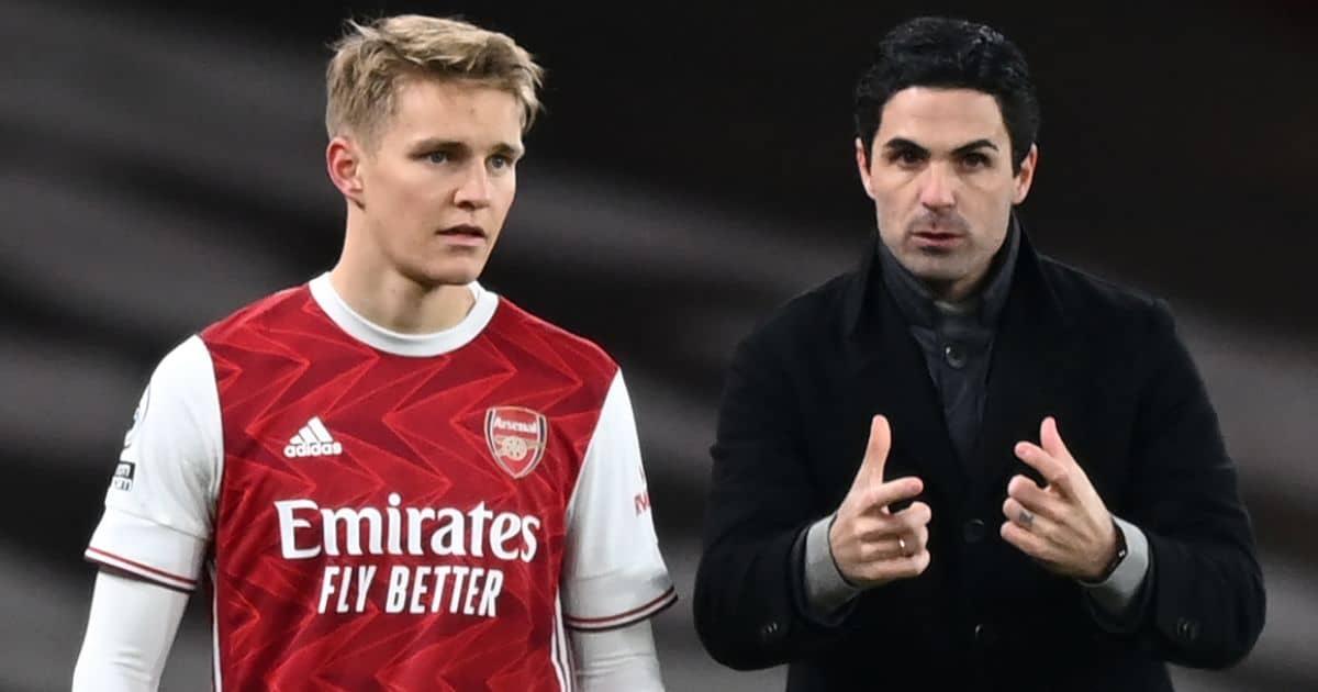 Martin Odegaard, Mikel Arteta, Arsenal