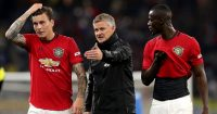 Victor Lindelof, Ole Gunnar Solskjaer, Eric Bailly Man Utd July 2019