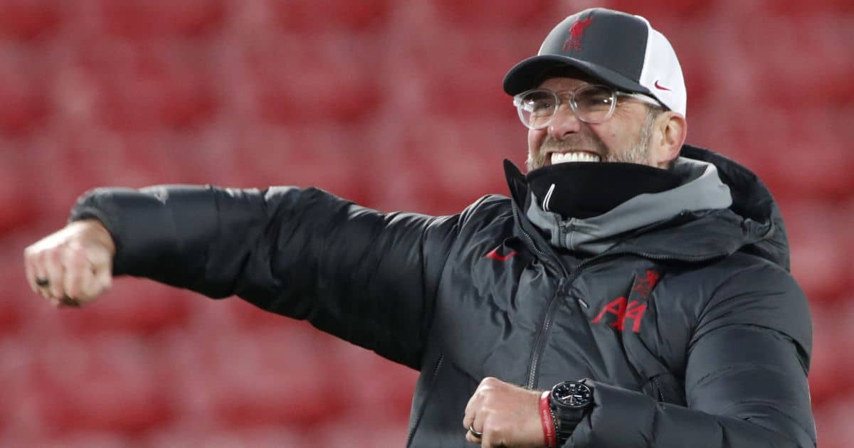 Jurgen Klopp, Liverpool celebrate