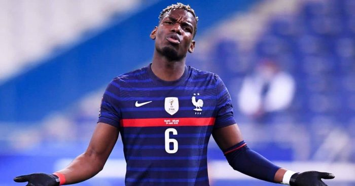 Paul Pogba Man Utd, France v Ukraine March 2021