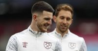 Declan Rice West Ham v Arsenal March 2021