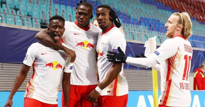 Amadou Haidara, Ibrahima Konate, Nordi Mukiele, Emil Forsberg, RB Leipzig
