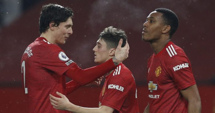 Dan James Victor Lindelof Anthony Martial