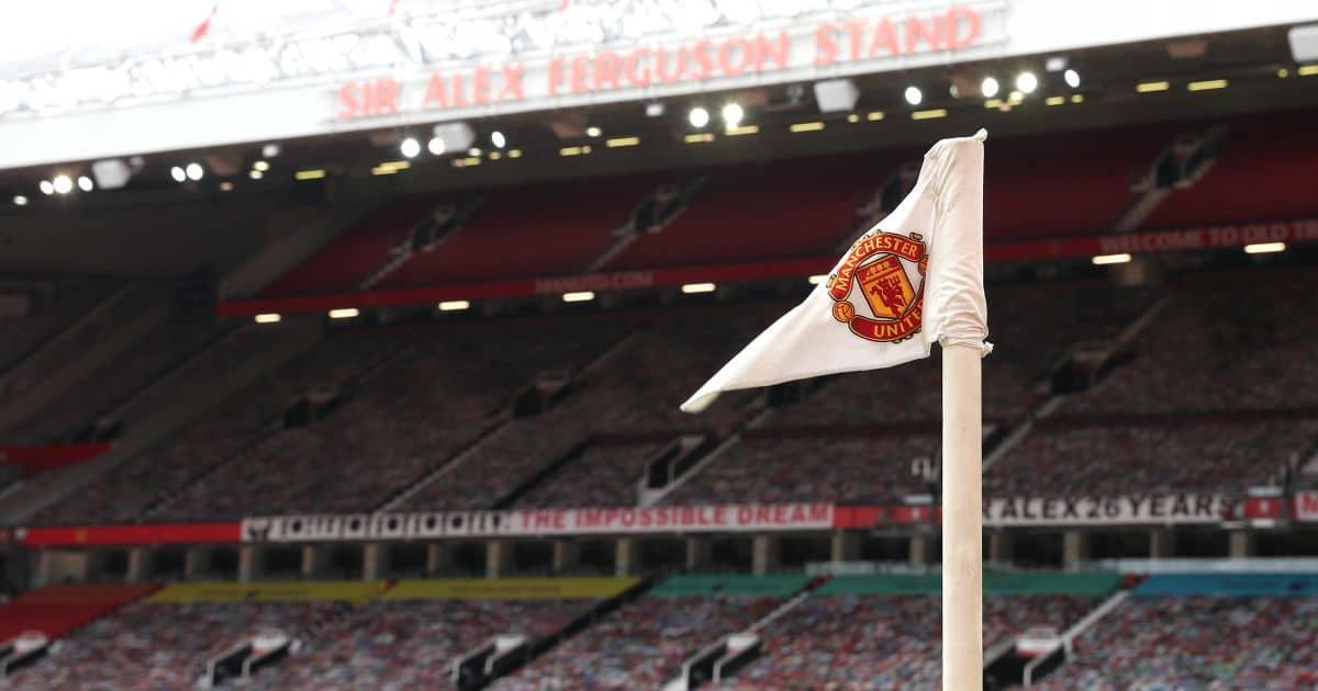 Old Trafford corner flag July 2020