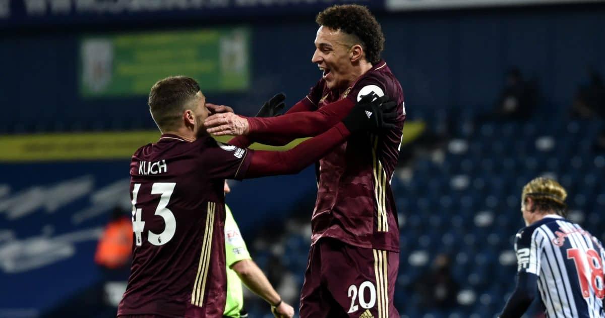Mateusz Klich, Rodrigo Moreno West Brom v Leeds December 2020