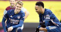 Martin Odegaard, Pierre-Emerick Aubameyang, Arsenal