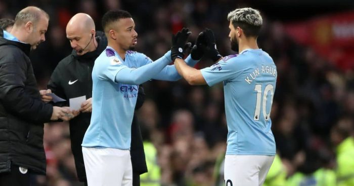 Gabriel Jesus, Sergio Aguero Man City TEAMtalk