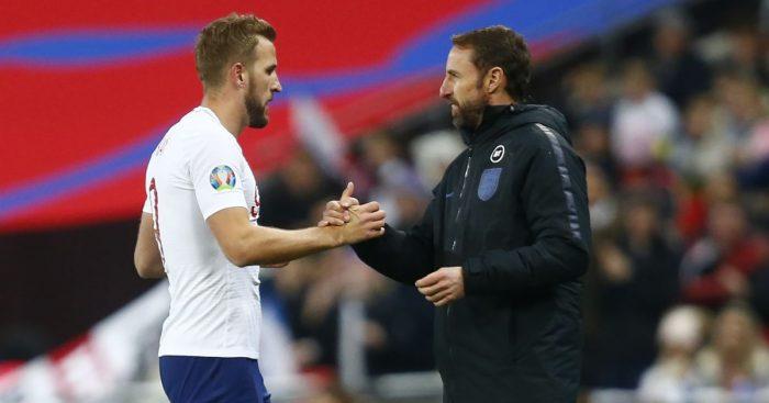 Harry Kane, Gareth Southgate, England TEAMtalk