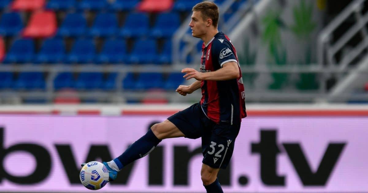 Mattias Svanberg Bologna v Sampdoria March 2021