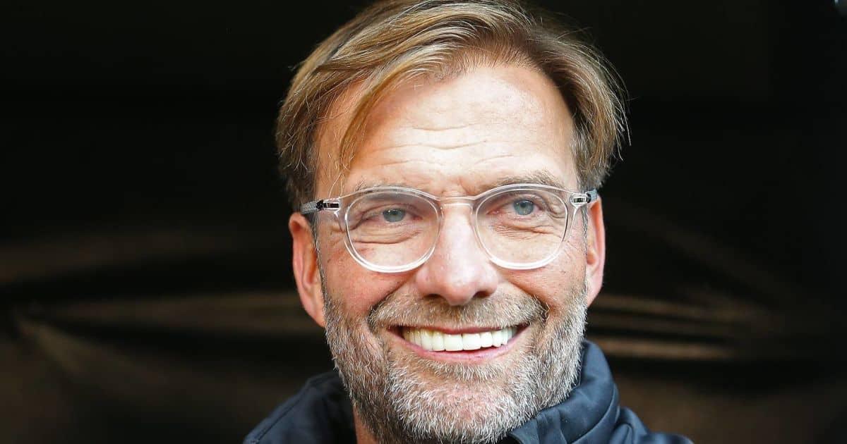 Jurgen Klopp, Liverpool boss smiling
