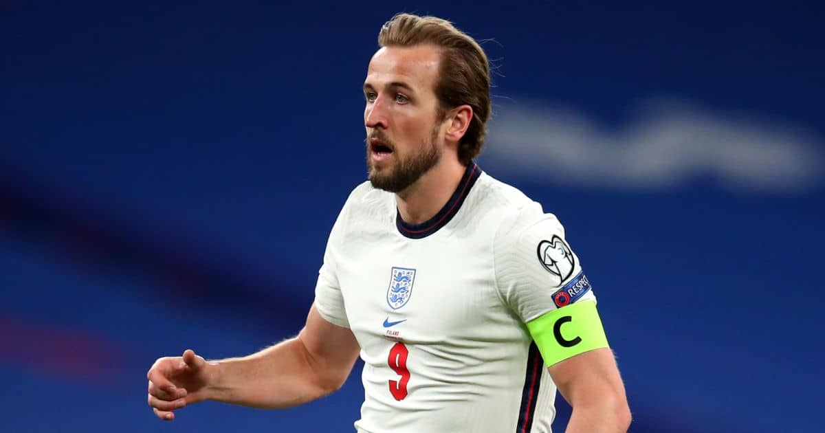 England leave it late to beat Poland after Harry Kane sets new record