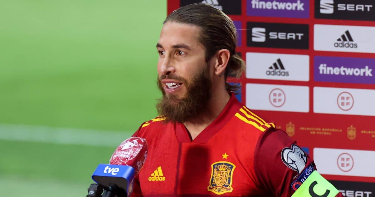 Sergio Ramos Spain v Kosovo March 2021