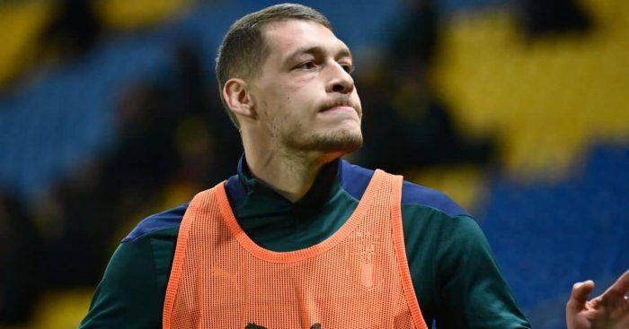 Andrea Belotti Italy striker