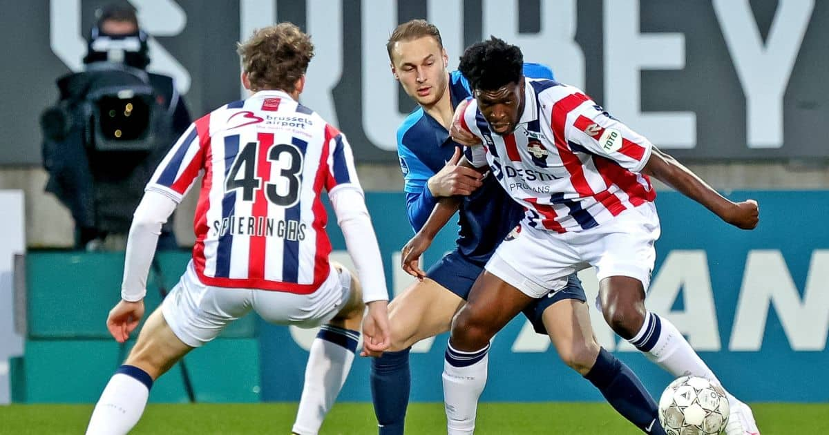 Teun Koopmeiners Willem II v AZ Alkmaar April 2021