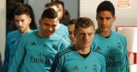 Toni Kroos, Casemiro, Raphael Varane, Real Madrid