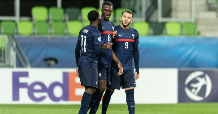 Ibrahima Konate Russia Under-21 v France Under-21 March 2021