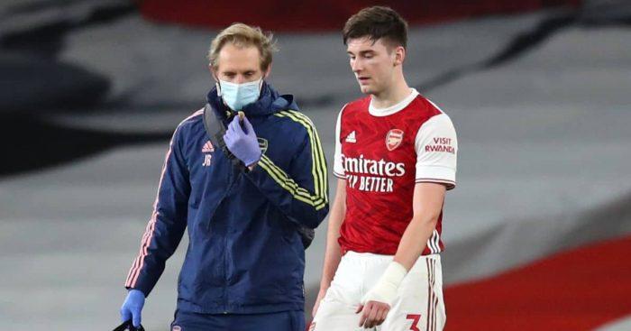 Kieran Tierney Arsenal injury