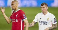 Fabinho, Toni Kroos Liverpool v Real Madrid
