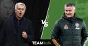 Jose Mourinho, Ole Gunnar Solskjaer, TEAMtalk predictions