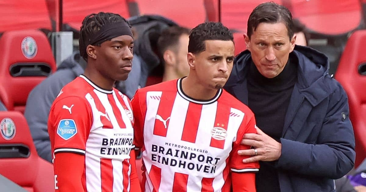 Noni Madueke, Mohamed Ihattaren, PSV Eindhoven