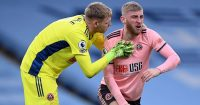 Aaron Ramsdale, Oli McBurnie Sheffield United