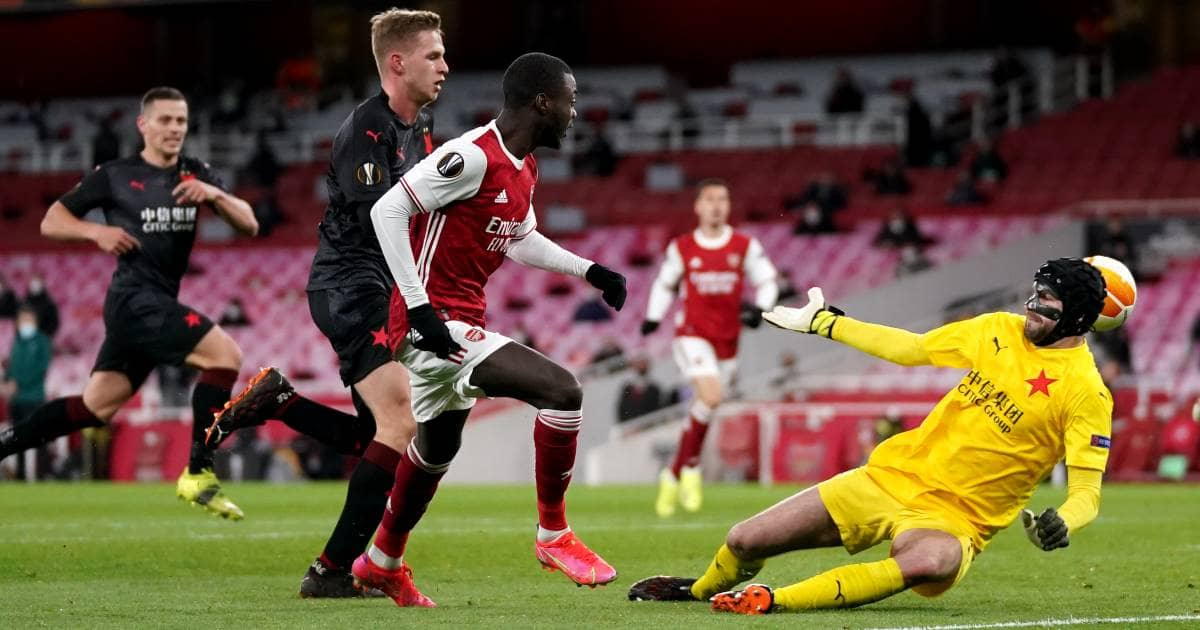 Arsenal denied as late equaliser leaves Europa League fate hanging in balance