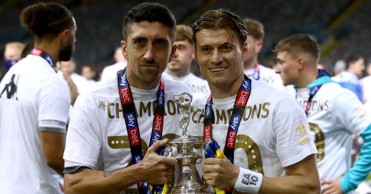 Pablo Hernandez, Gjanni Alioski Leeds United