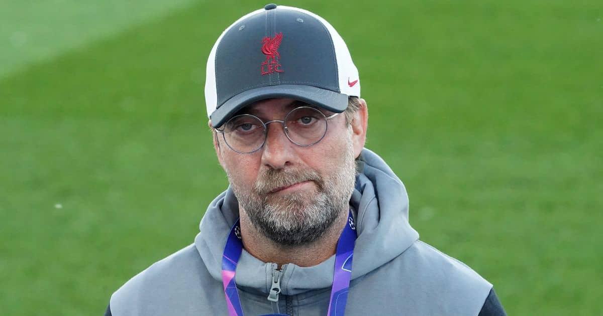 Jurgen Klopp Liverpool manager frustrated