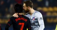 Joao Felix, .Jan Oblak Atletico Madrid